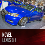 NOVEL LEXUS IS F