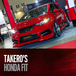 TAKERO'S HONDA FIT フィット