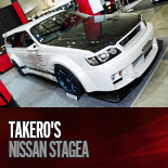 TAKERO'S NISSAN STAGEA ステージア