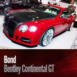 Bond Bentley Continental GT